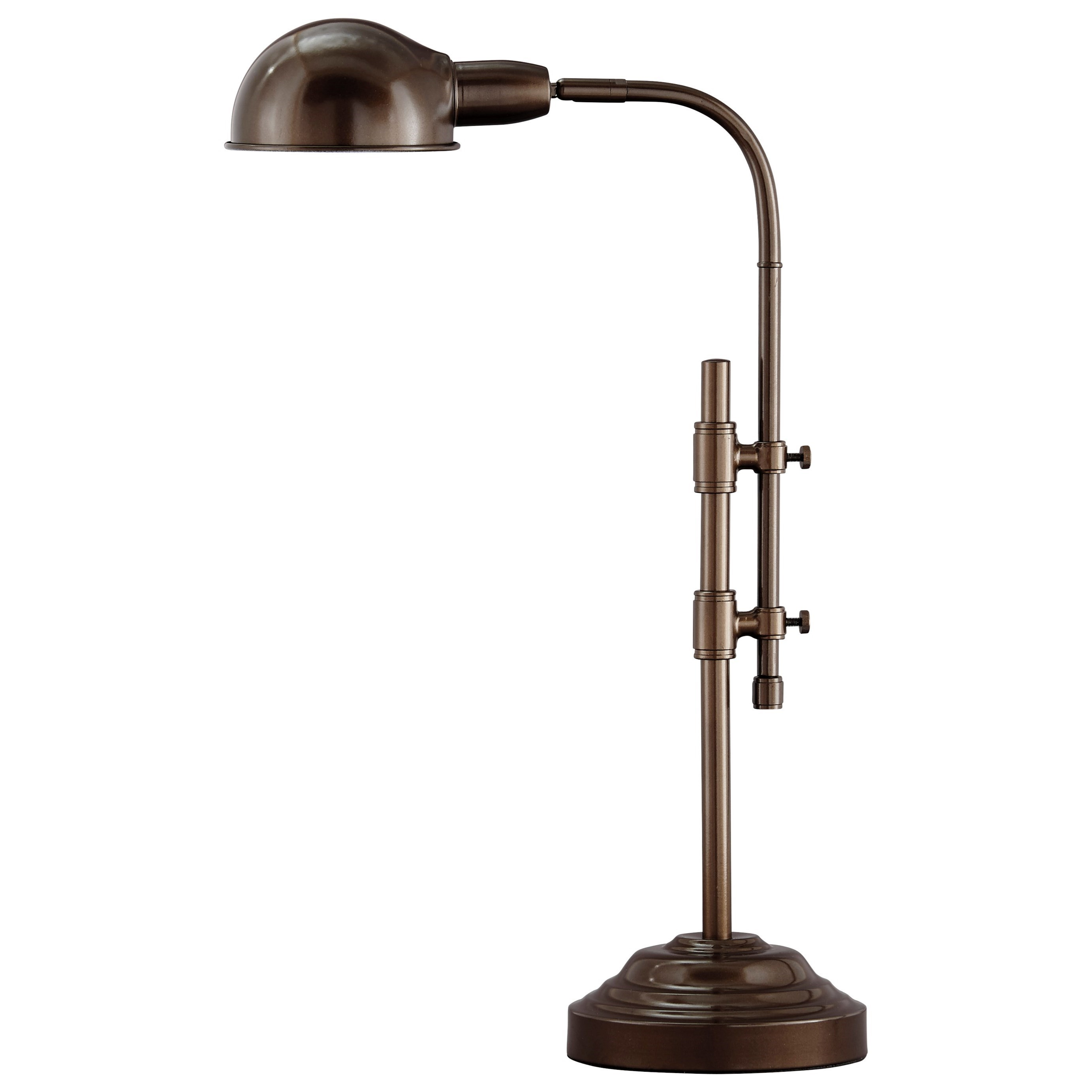 Maaike Bronze Finish Metal Desk Lamp