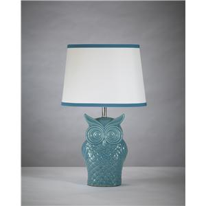 Signature Design by Ashley Lamps - Vintage Style Sarva Ceramic Table Lamp