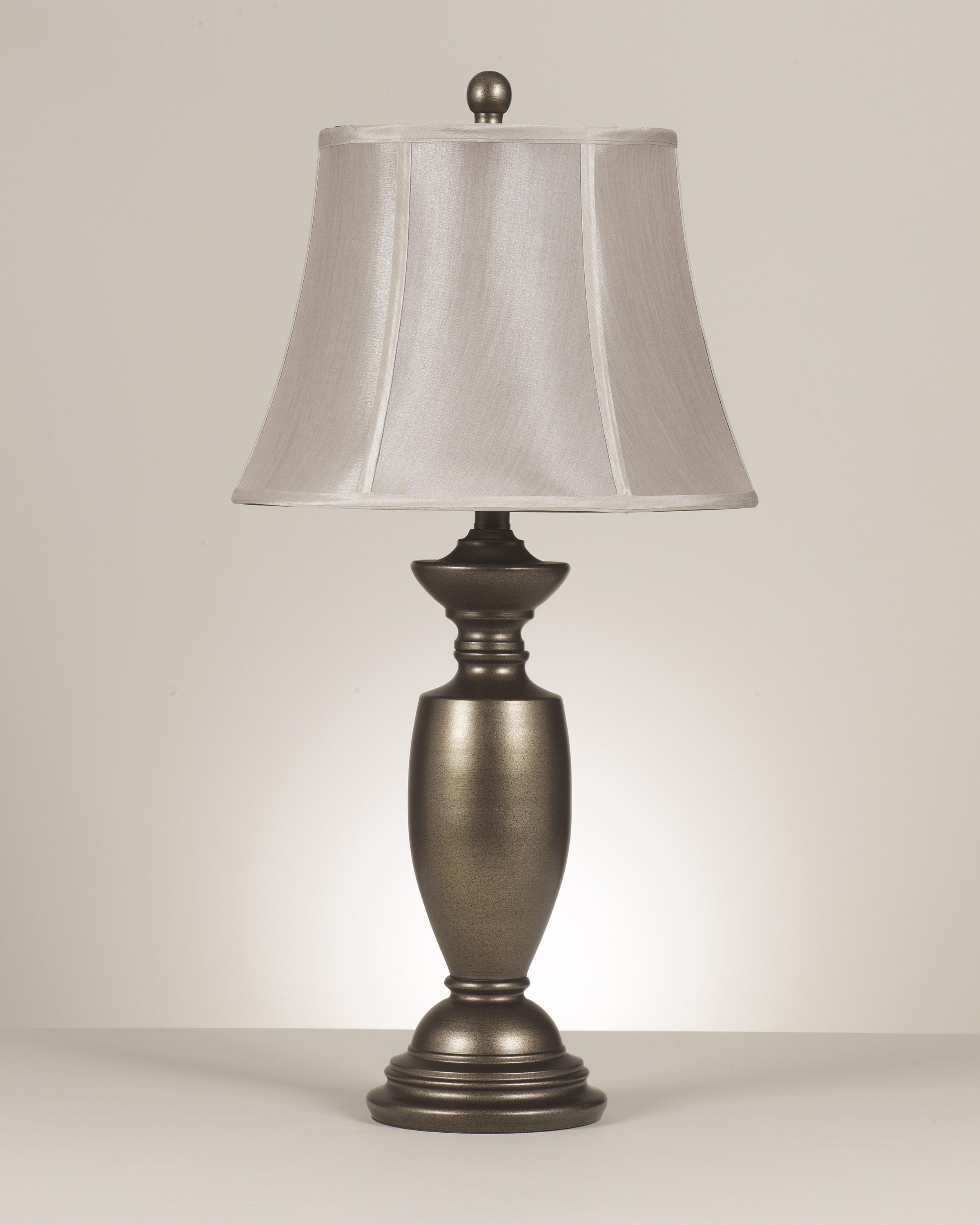 Signature Design by Ashley Lamps - Traditional Classics Set of 2 Ruth Metal Table Lamps - Item Number: L200934