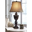 Signature Design by Ashley Lamps - Traditional Classics Glyn Metal Table Lamp