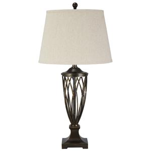 Ashley Signature Design Lamps - Traditional Classics Makai Poly Table Lamp