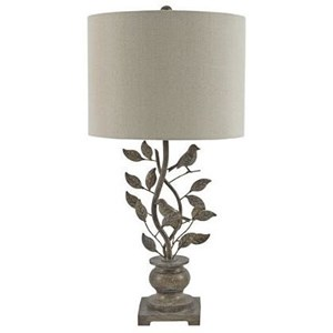 Signature Design by Ashley Lamps - Traditional Classics Heloise Table Lamp