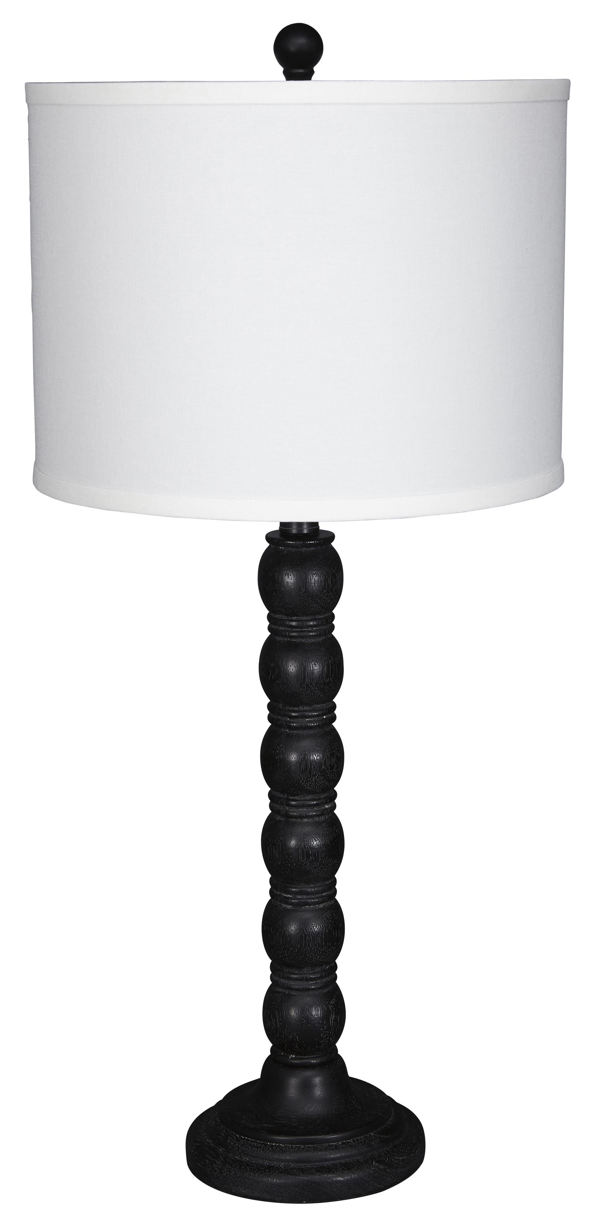 Signature Design by Ashley Lamps - Traditional Classics Set of 2 Shellany Table Lamps - Item Number: L276004
