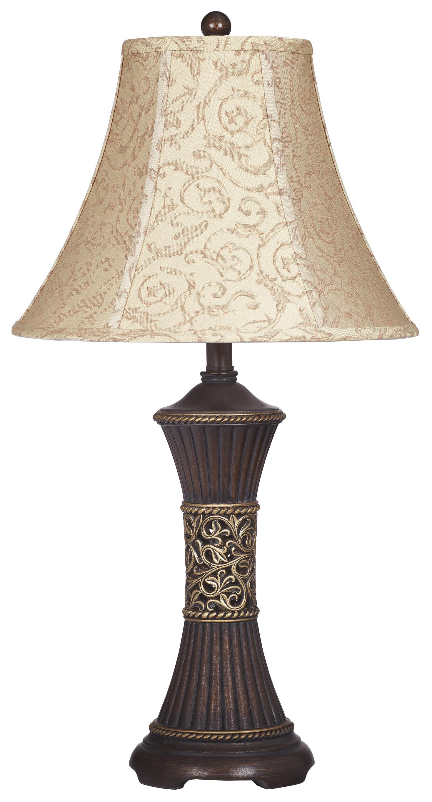 Signature Design by Ashley Lamps - Traditional Classics Set of 2 Mariana Table Lamps - Item Number: L372944