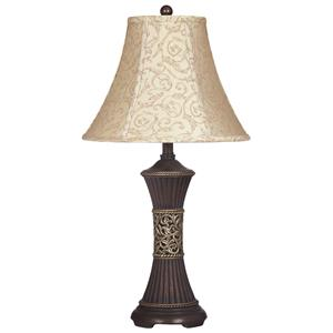 Signature Design by Ashley Lamps - Traditional Classics Set of 2 Mariana Table Lamps