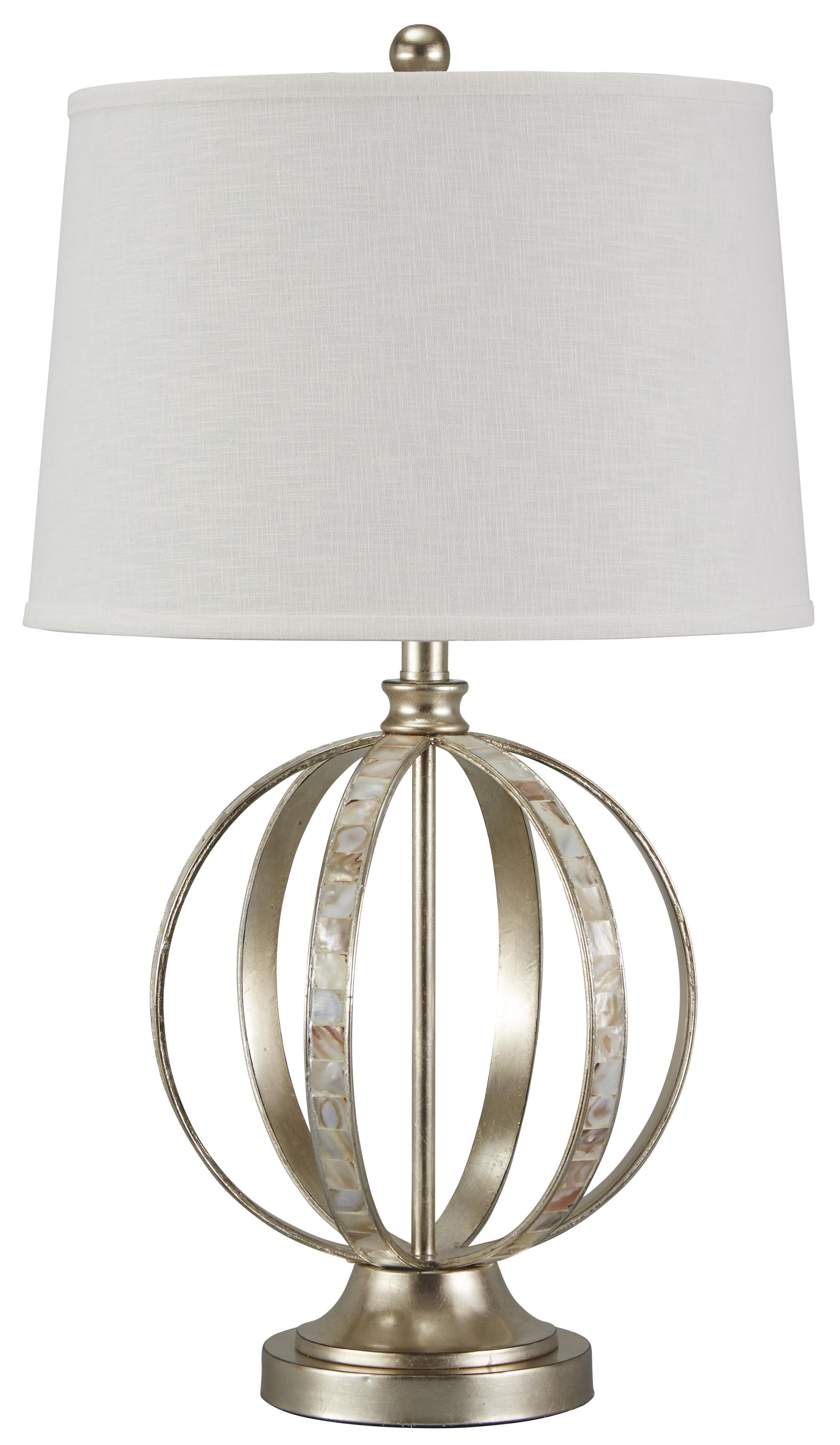 Signature Design by Ashley Lamps - Traditional Classics Shaunnea Metal Table Lamp - Item Number: L390014