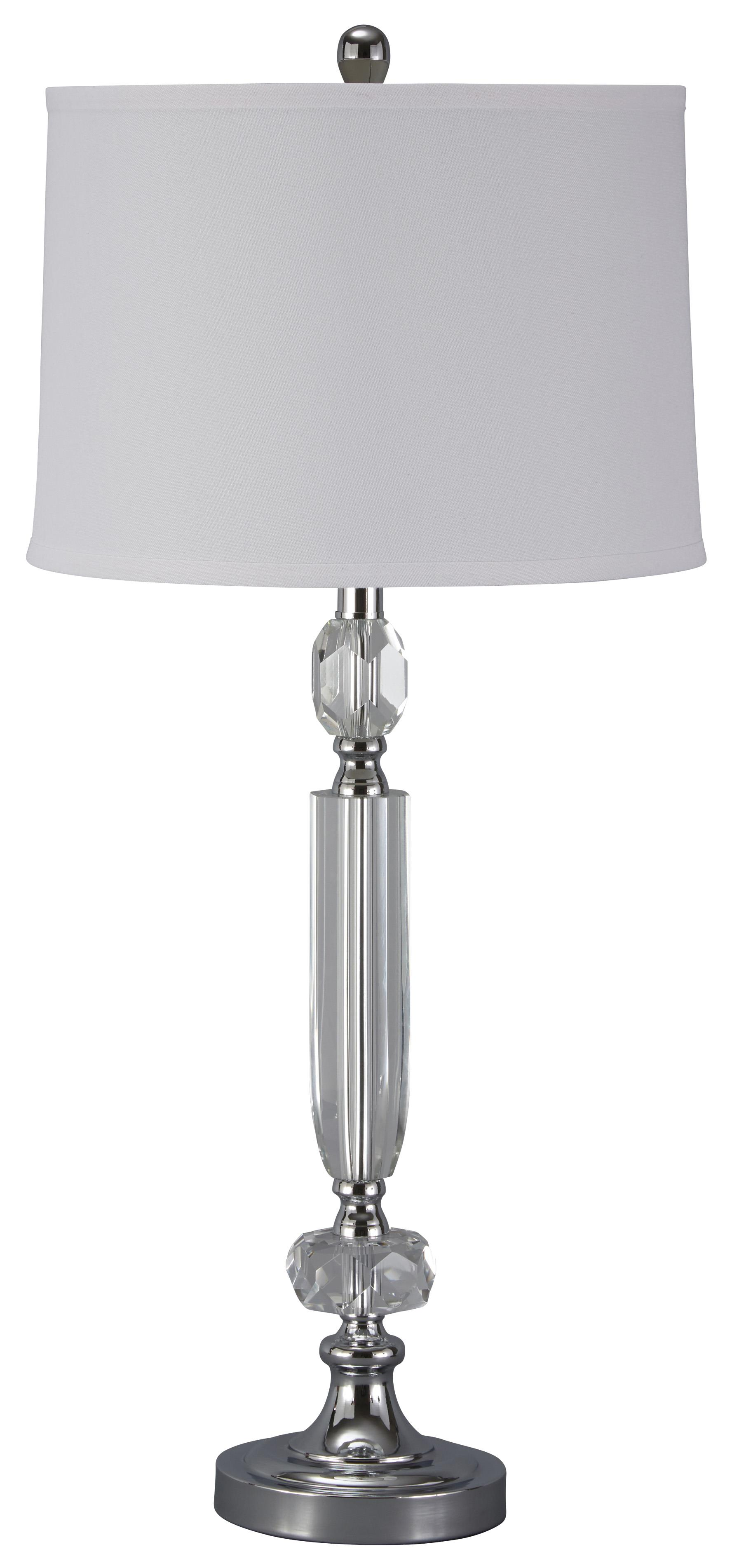 Signature Design by Ashley Lamps - Traditional Classics Tajo Crystal Table Lamp - Item Number: L428014