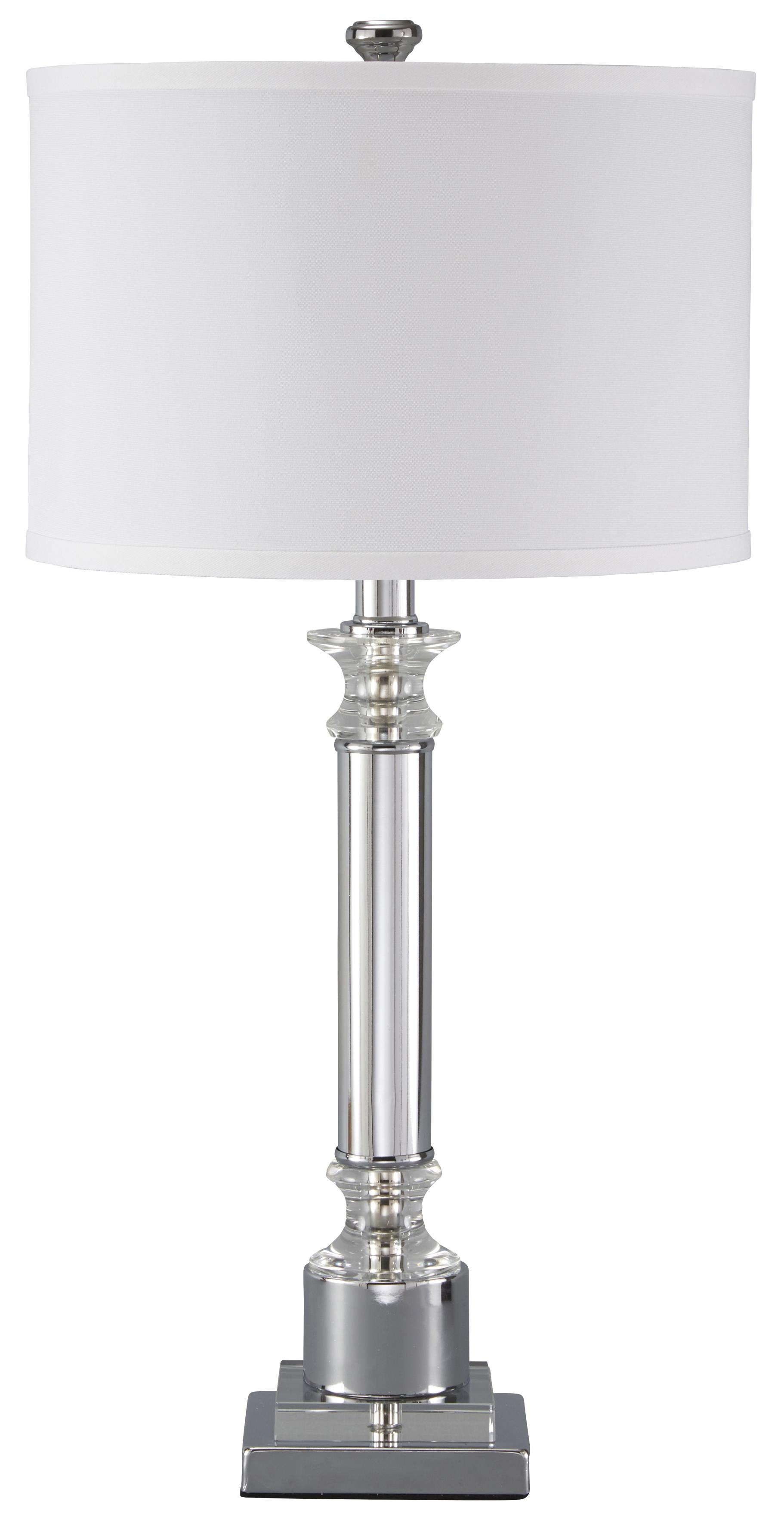 Signature Design by Ashley Lamps - Traditional Classics Marlon Metal Table Lamp - Item Number: L428044