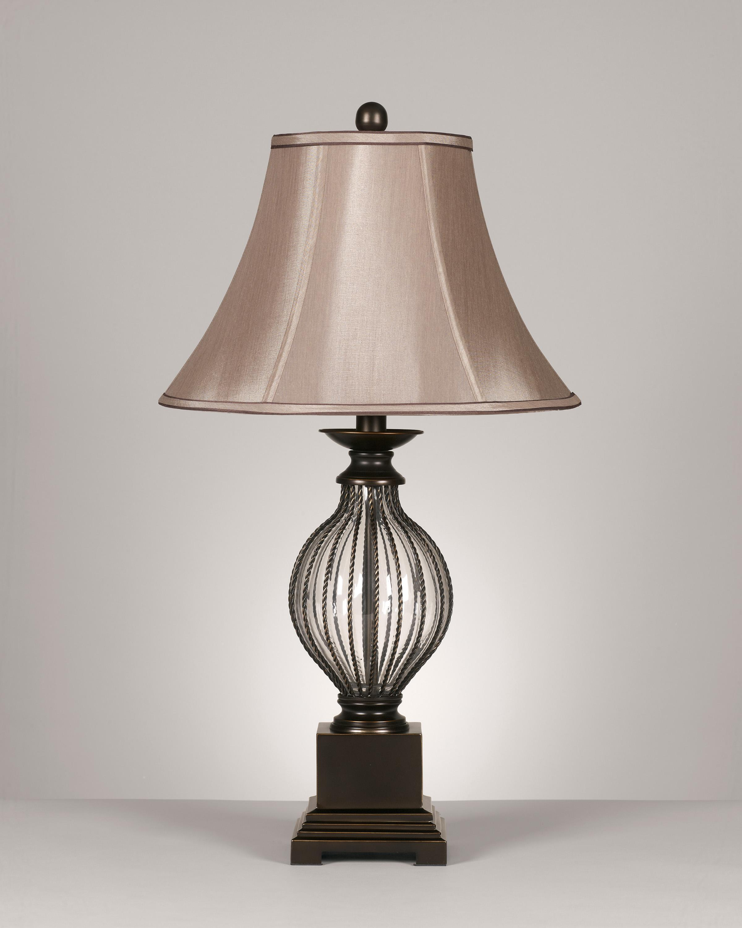 Signature Design by Ashley Lamps - Traditional Classics Set of 2 Ondreya Metal Table Lamps - Item Number: L442234