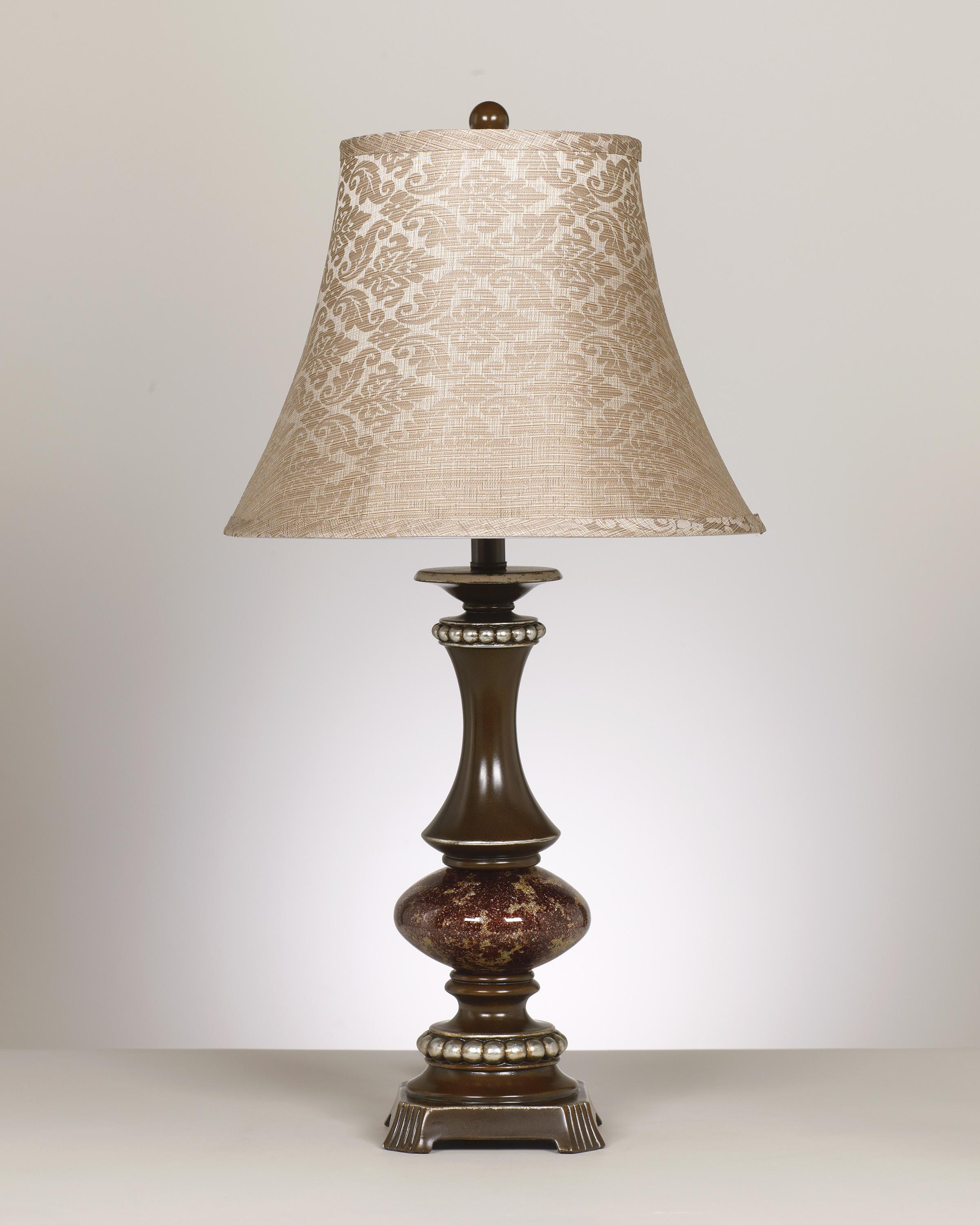 Signature Design by Ashley Lamps - Traditional Classics Rosemary Poly Table Lamp - Item Number: L443784
