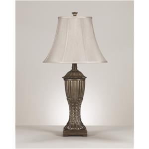 Signature Design by Ashley Furniture Lamps - Traditional Classics Rosemond Poly Table Lamp