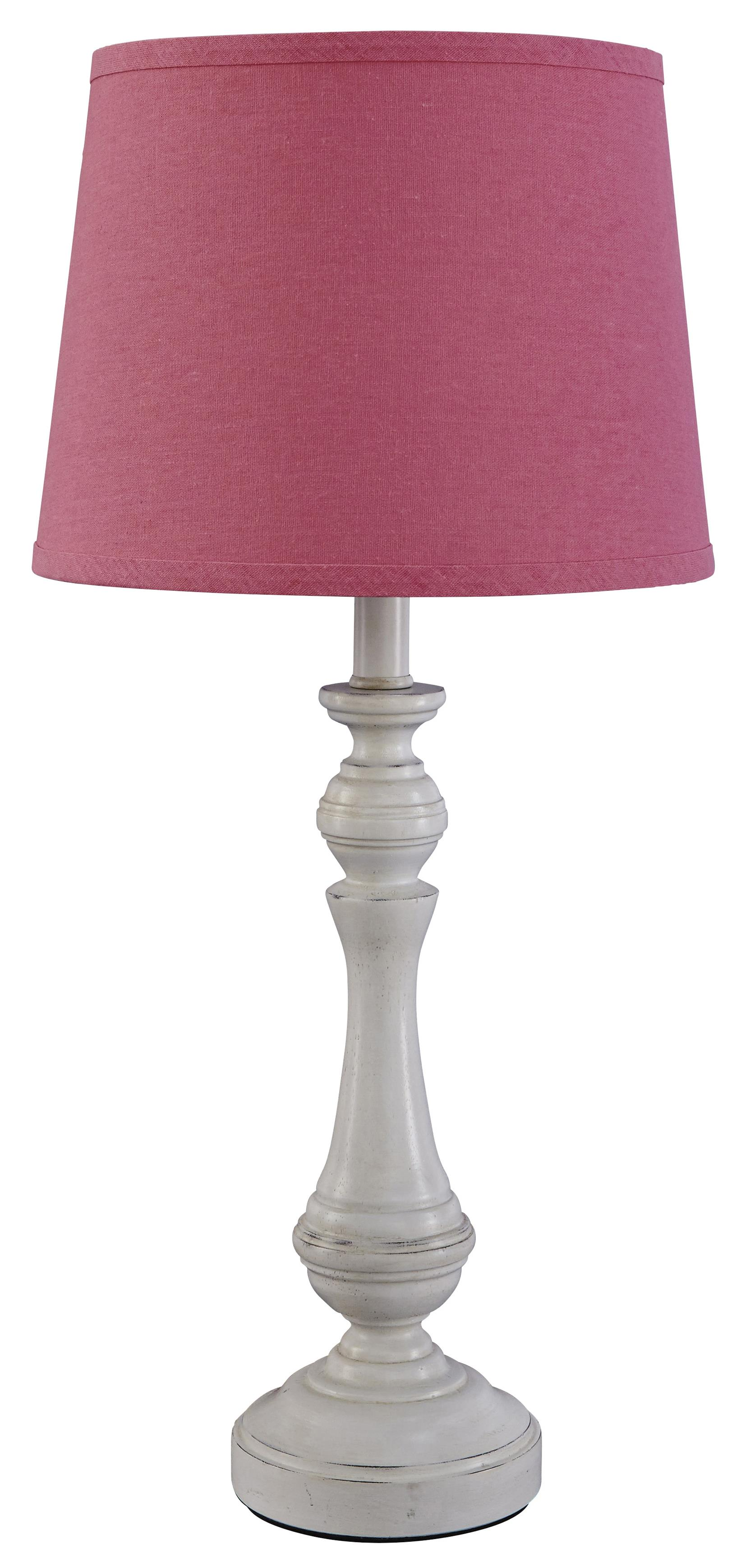 Signature Design by Ashley Lamps - Traditional Classics Kian Poly Table Lamp - Item Number: L857544
