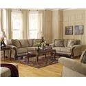 Signature Design by Ashley Lanett Sofa, Loveseat and Chair Set - Item Number: 123344931