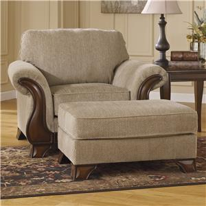 Ashley (Signature Design) Lanett Chair & Ottoman