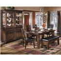 Signature Design by Ashley Larchmont Casual Dining Room Group - Item Number: D442 Dining Room Group 1