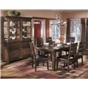 Signature Design by Ashley Larchmont Casual Dining Room Group - Item Number: D442 Dining Room Group 2
