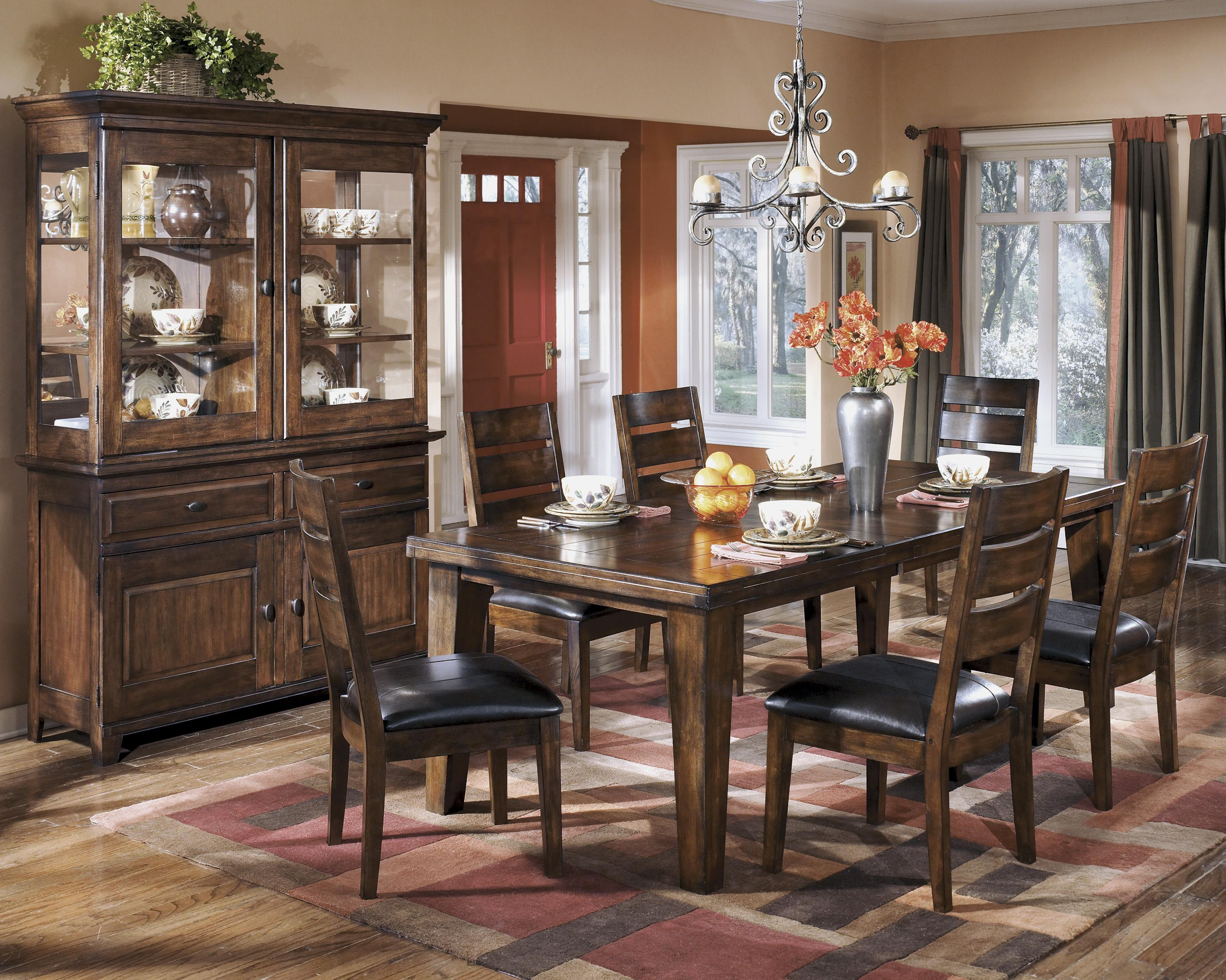 Signature Design by Ashley Larchmont Casual Dining Room Group - Item Number: D442 Dining Room Group 4