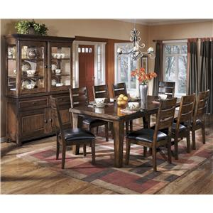 Ashley Signature Design Larchmont Casual Dining Room Group