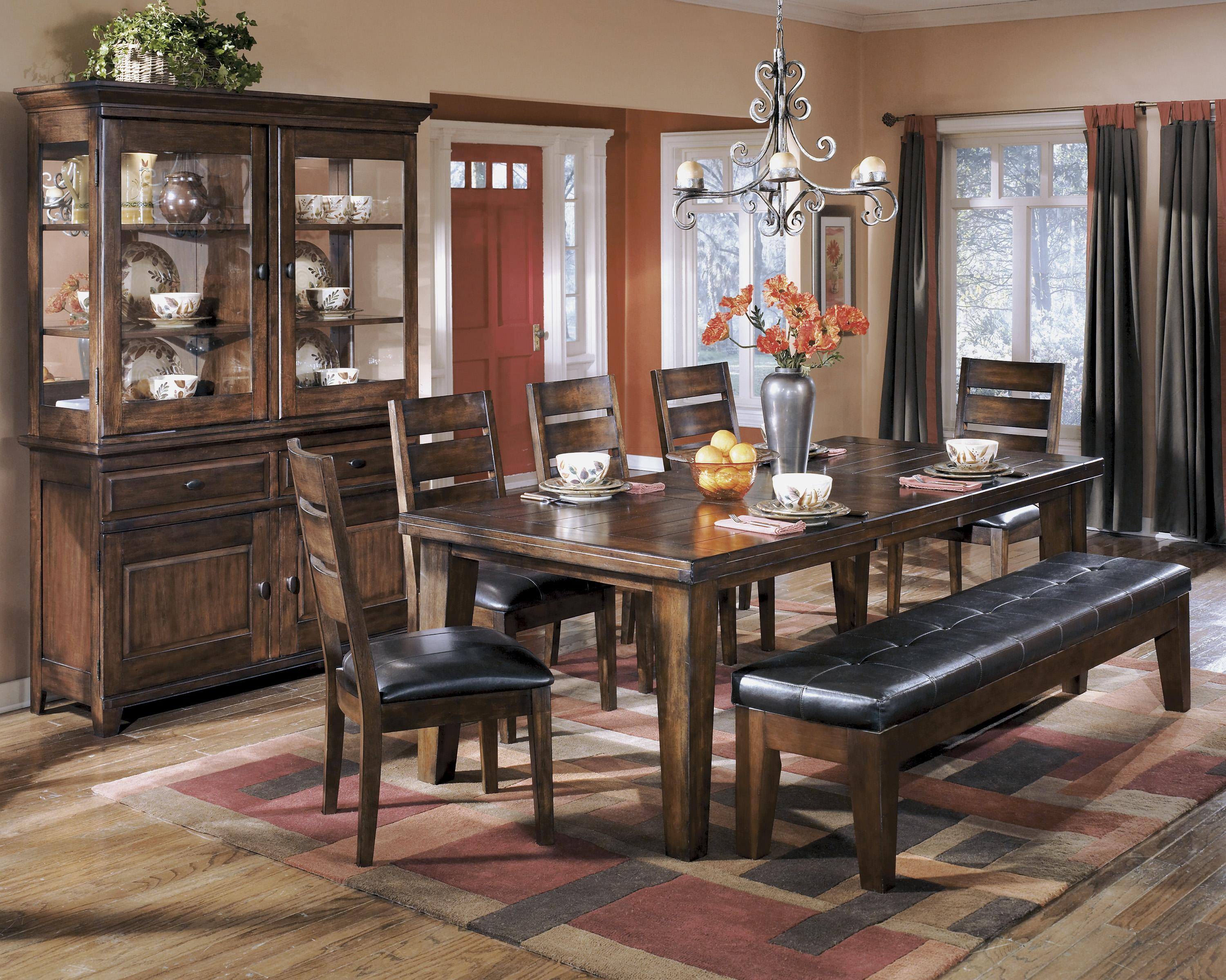 Signature Design by Ashley Larchmont Casual Dining Room Group - Item Number: D442 Dining Room Group 6