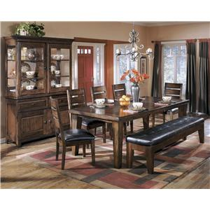 Signature Design by Ashley Furniture Larchmont Casual Dining Room Group
