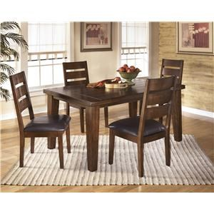 Ashley Signature Design Larchmont Five Piece Dining Set