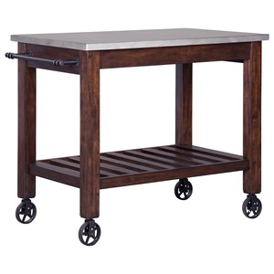 Signature Design by Ashley Larchmont Kitchen Cart