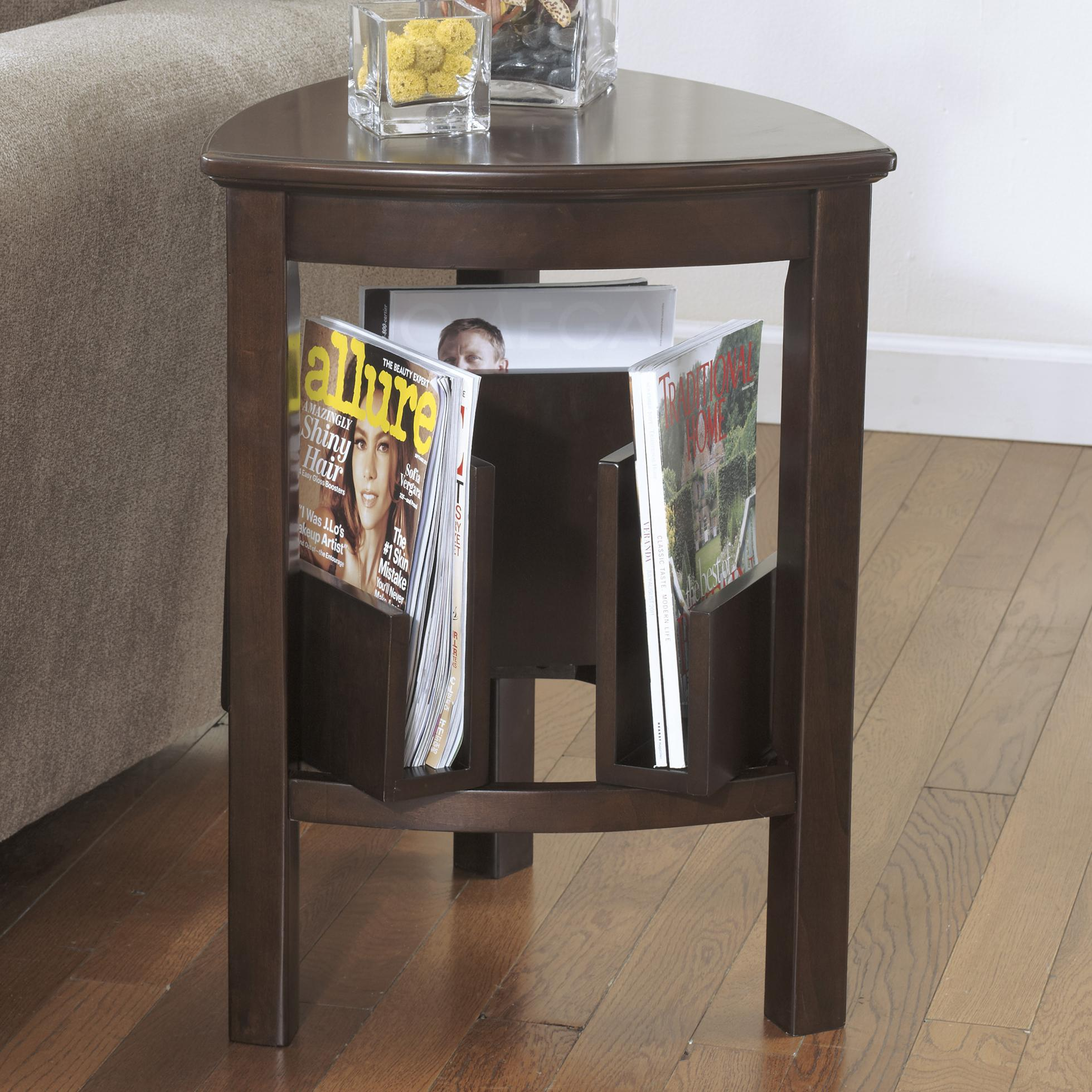 Signature Design by Ashley Larimer Triangle End Table - Item Number: T654-6