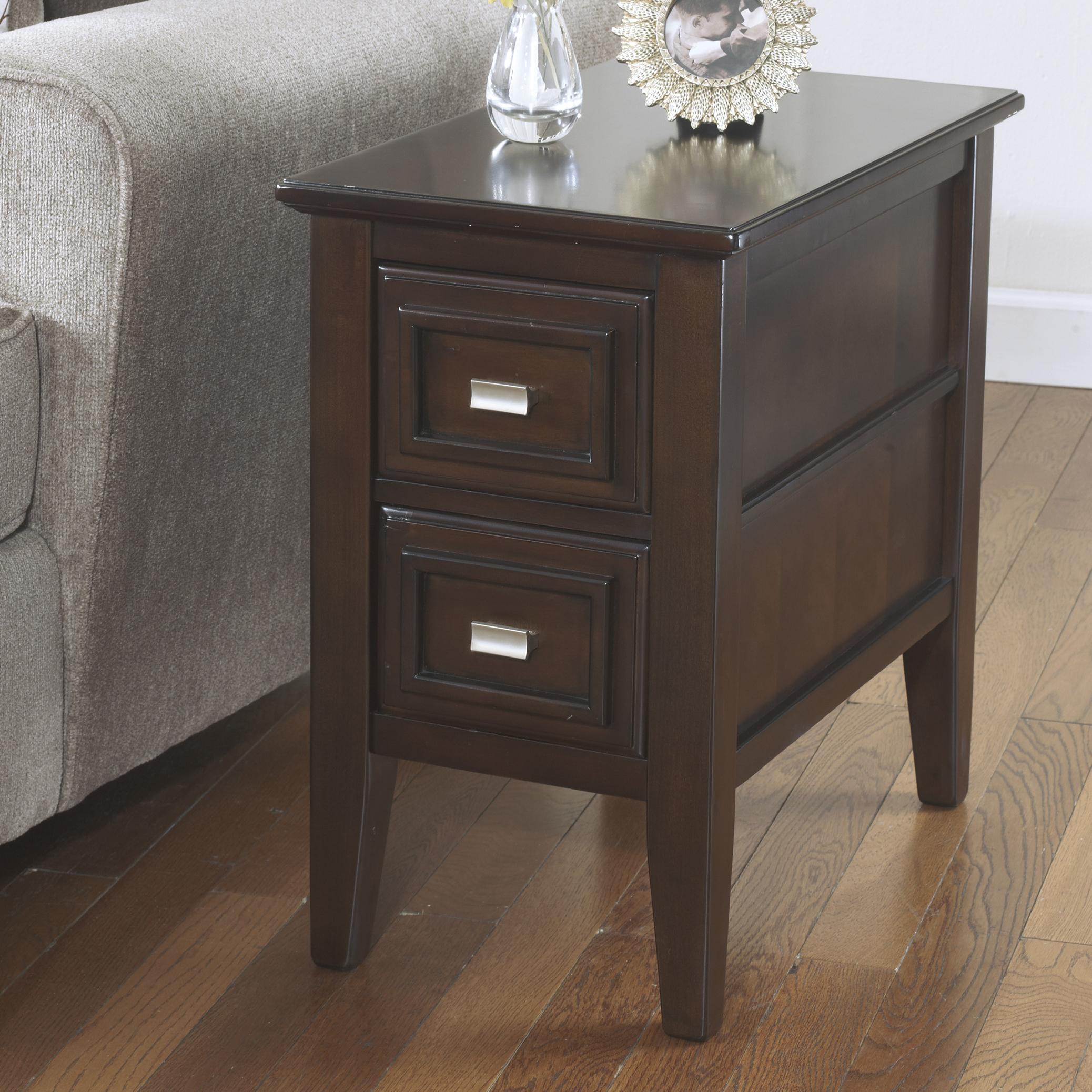 Signature Design by Ashley Larimer Chairside End Table - Item Number: T654-7