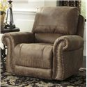 Signature Design by Ashley Larkinhurst - Earth Rocker Recliner - Item Number: 3190125