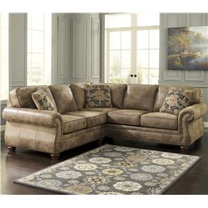 Benchcraft Larkinhurst - Earth Corner Sectional