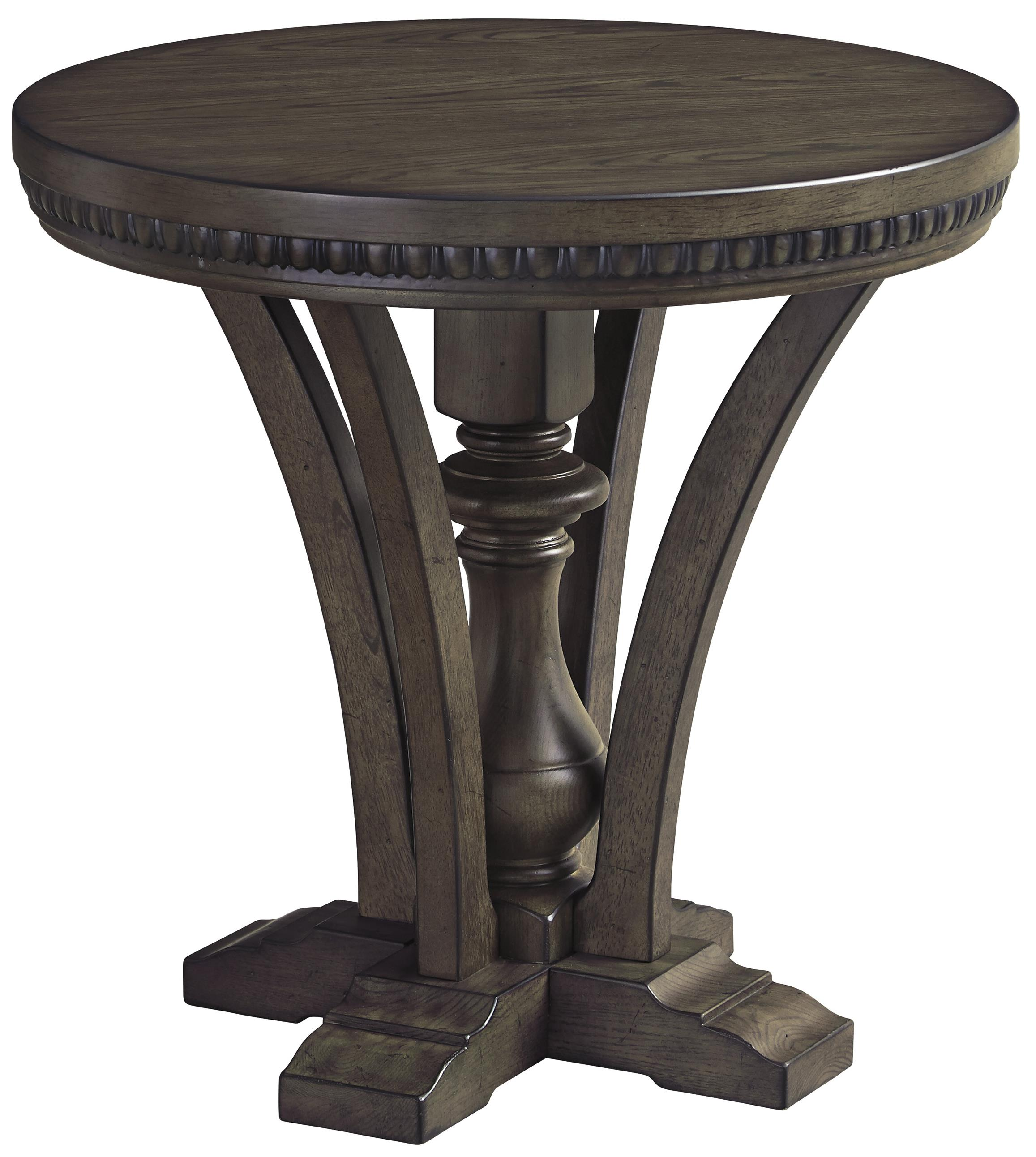 Signature Design by Ashley Larrenton Round End Table - Item Number: T890-6
