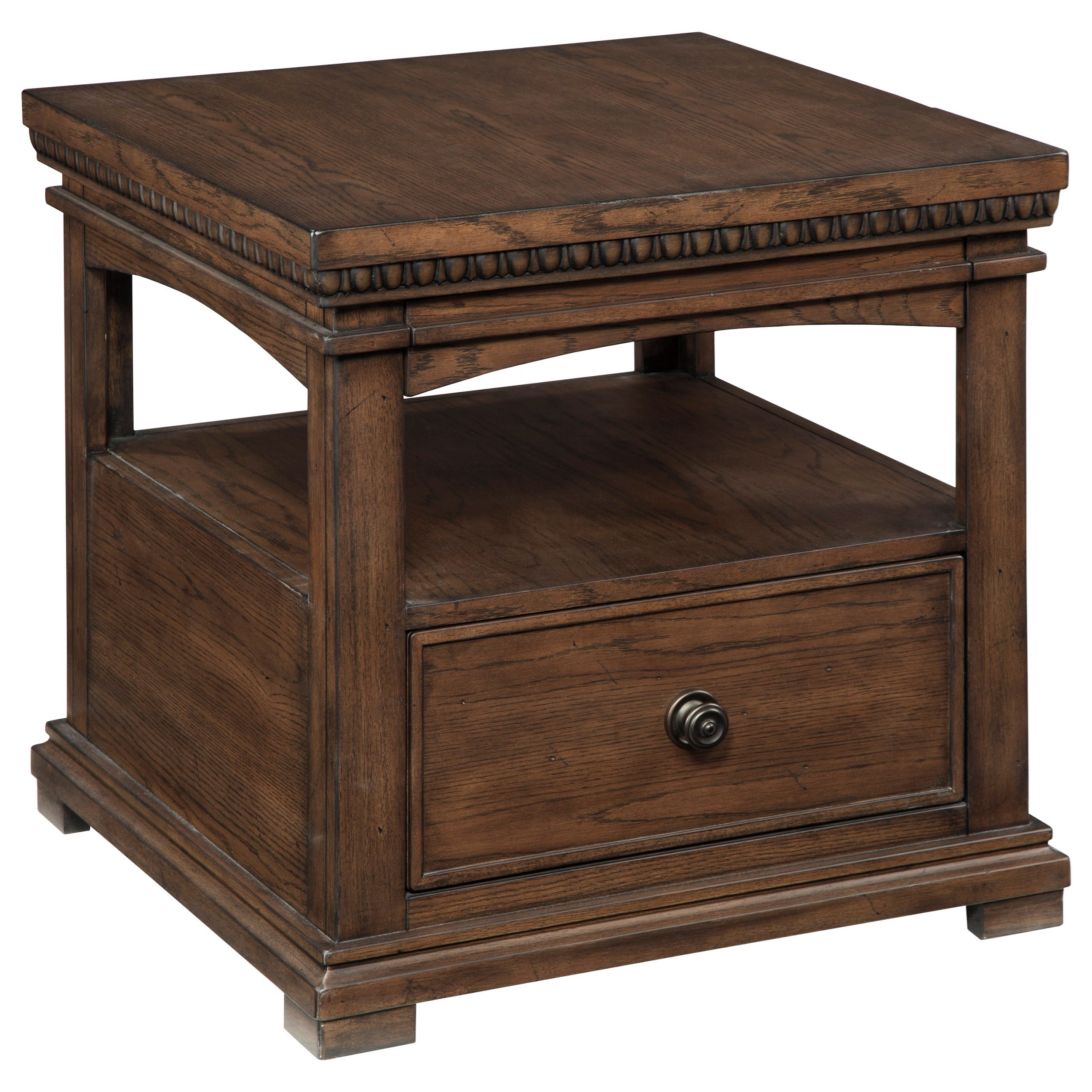 Signature Design by Ashley Larrenton Rectangular End Table - Item Number: T790-3