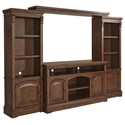Signature Design by Ashley Larrenton Entertainment Wall Unit - Item Number: W790-23+22+24+25