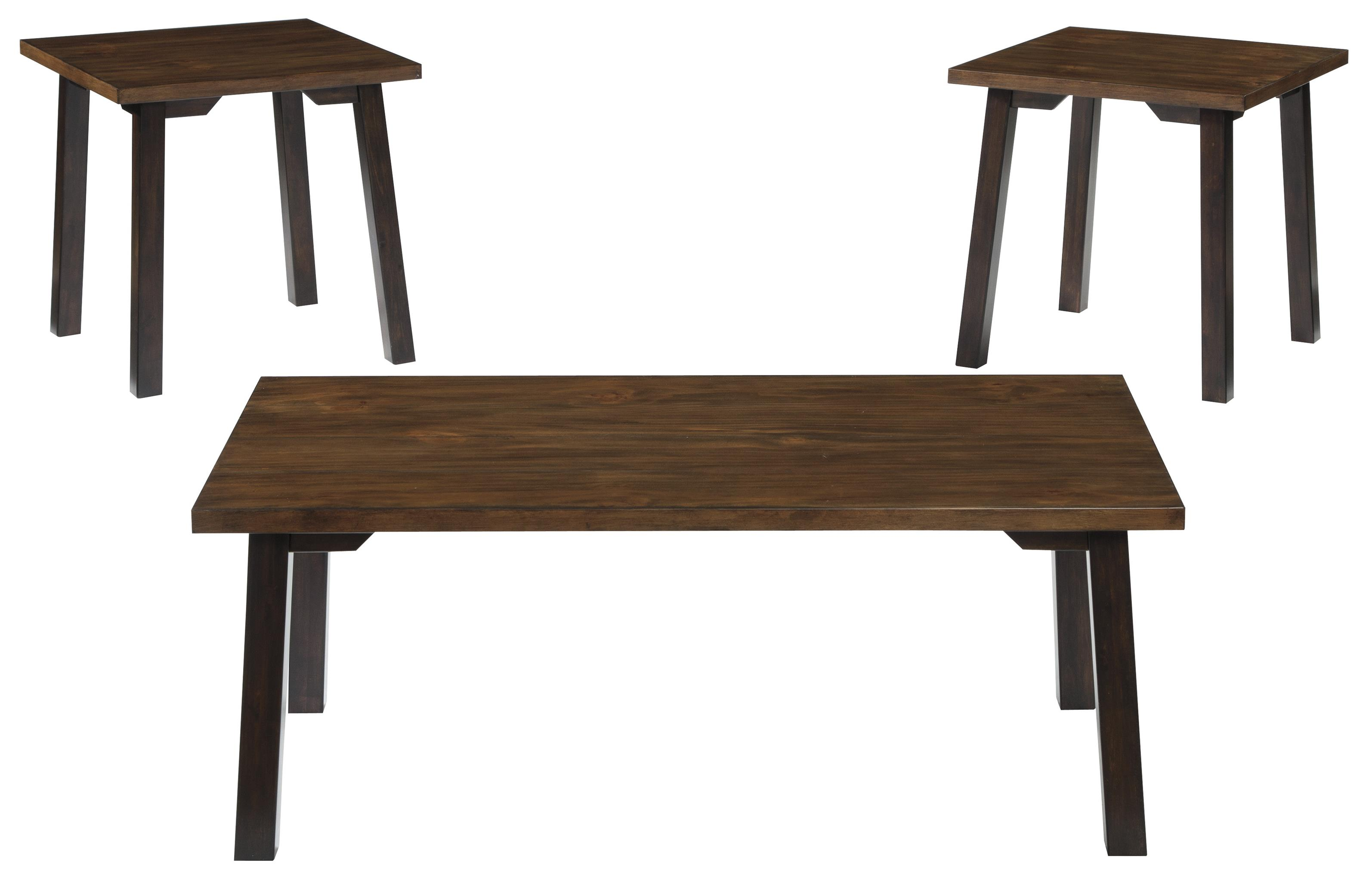 Signature Design by Ashley Latoon Occasional Table Set - Item Number: T205-13