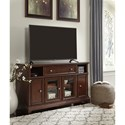 Signature Design by Ashley Lavidor Large TV Stand with Drop Down Door