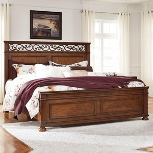 Signature Design by Ashley Lazzene Queen Panel Bed
