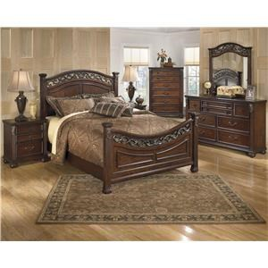 Signature Design by Ashley Leahlyn King 6 pc Bedroom Group