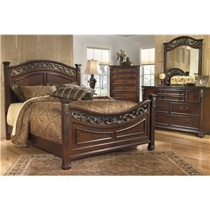 Signature Design by Ashley Leahlyn Queen 5 Piece Bedroom Group
