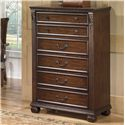 Signature Design by Ashley Leahlyn 5-Drawer Chest - Item Number: B526-46