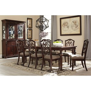 Signature Design by Ashley Furniture Leahlyn Casual Dining Room Group