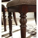 Signature Design by Ashley Leahlyn Traditional Dining Upholstered Arm Chair