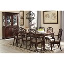 Signature Design by Ashley Leahlyn 9-Piece Rectangular Dining Table Set