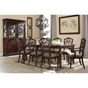 Signature Design by Ashley Leahlyn Traditional Rectangular Dining Room Extension Table