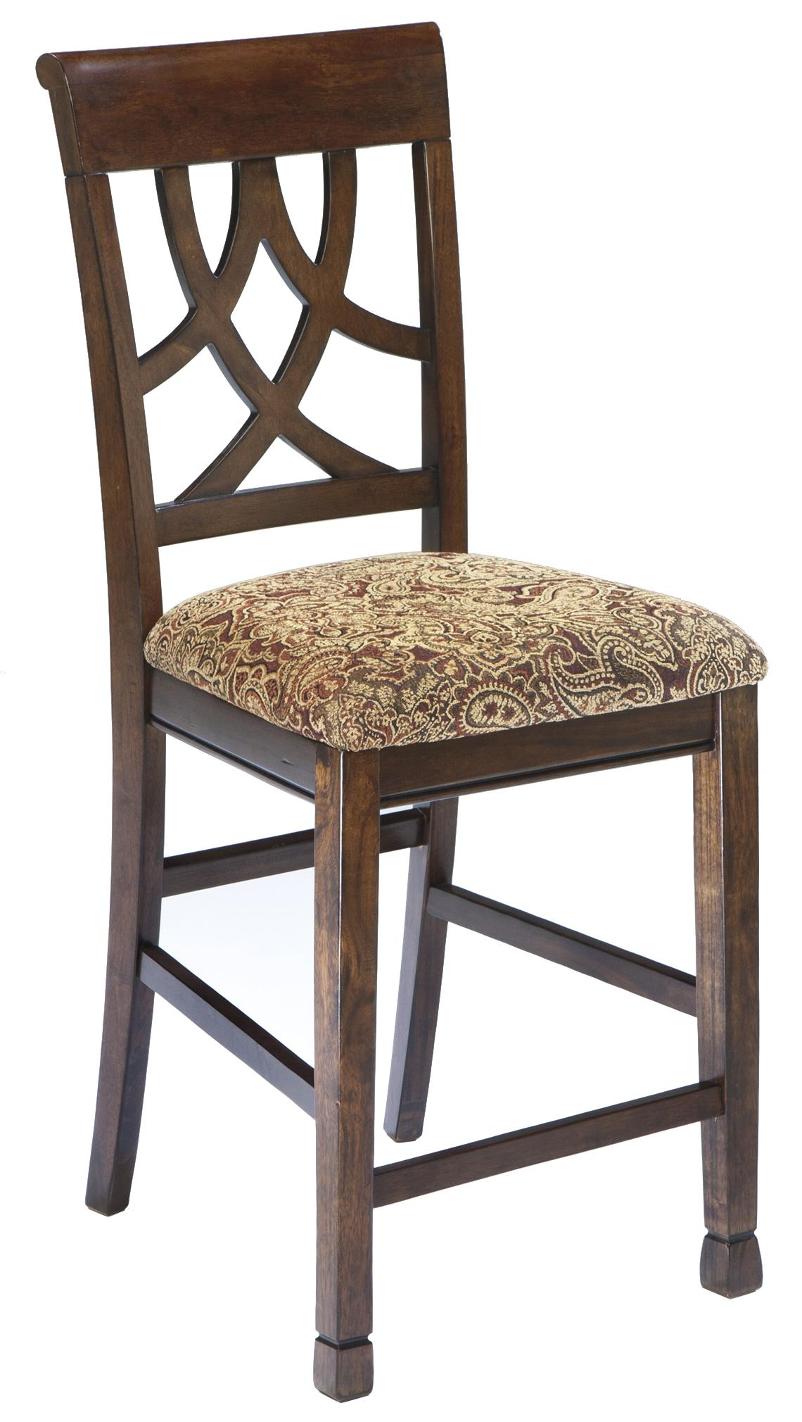 Signature Design by Ashley Leahlyn Upholstered Barstool - Item Number: D436-124