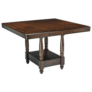 Signature Design by Ashley Leahlyn Dining Room Counter Extension Table