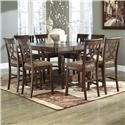 Signature Design by Ashley Leahlyn Dining Set - Item Number: D436-32+6x124