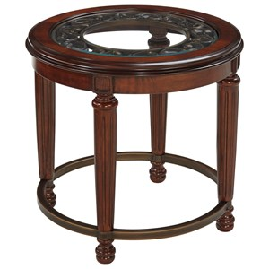 Signature Design by Ashley Leahlyn Round End Table
