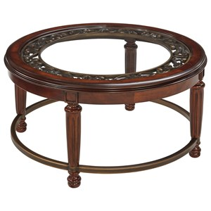 Ashley (Signature Design) Leahlyn Round Cocktail Table