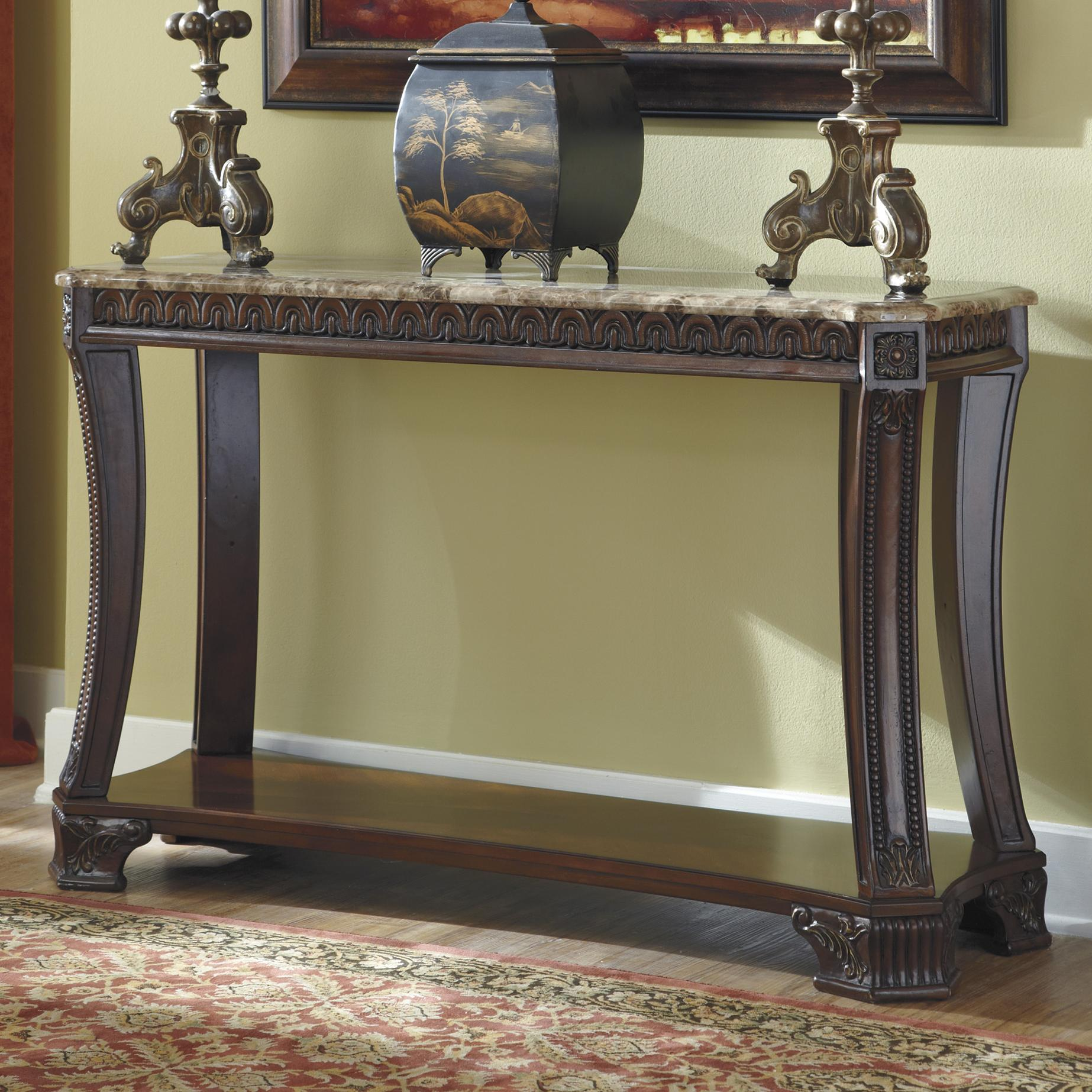 Signature Design by Ashley Ledelle Sofa Table - Item Number: T705-4