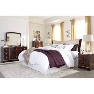 Signature Design by Ashley Lenmara King/California King Bedroom Group